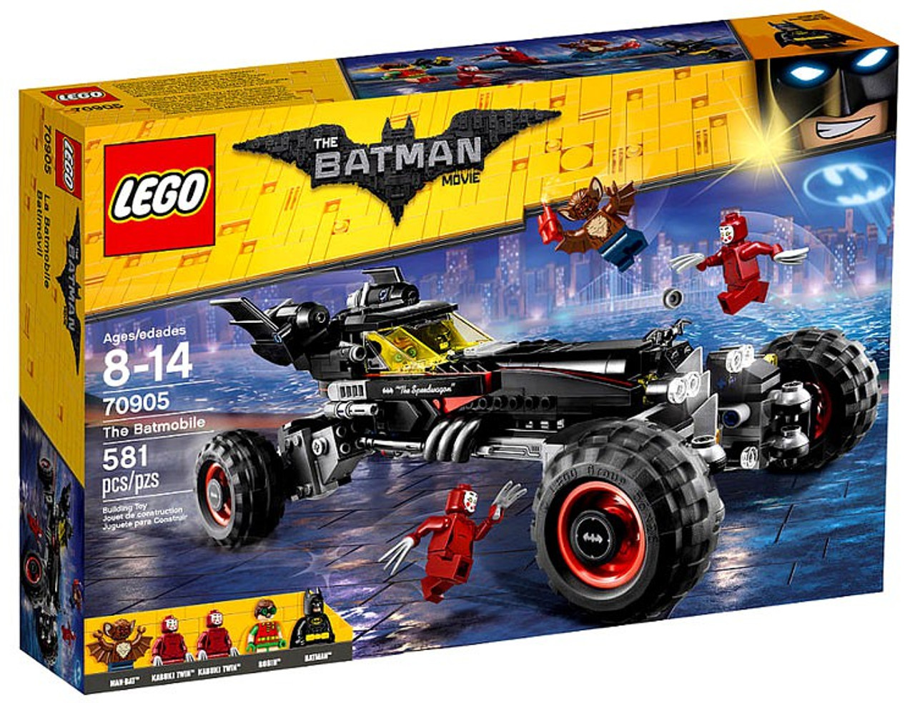 Lego Dc The Batman Movie The Batmobile Set 70905 Toywiz