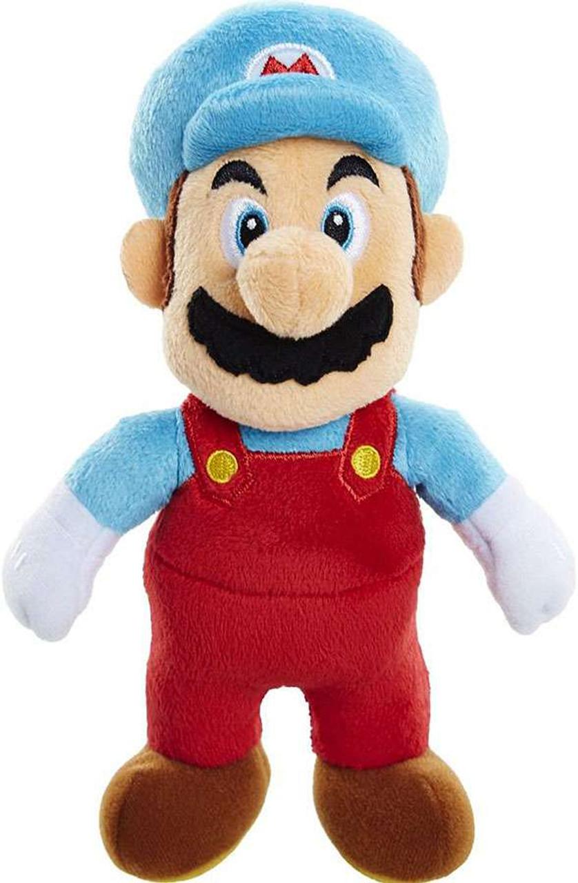 World of Nintendo Super Mario Ice Mario 7 5-Inch Plush