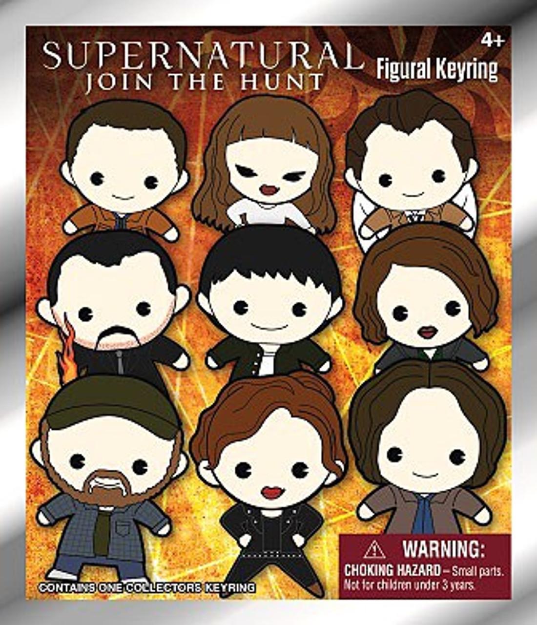 Supernatural 3D Figural Keyring Supernatural Mystery Pack