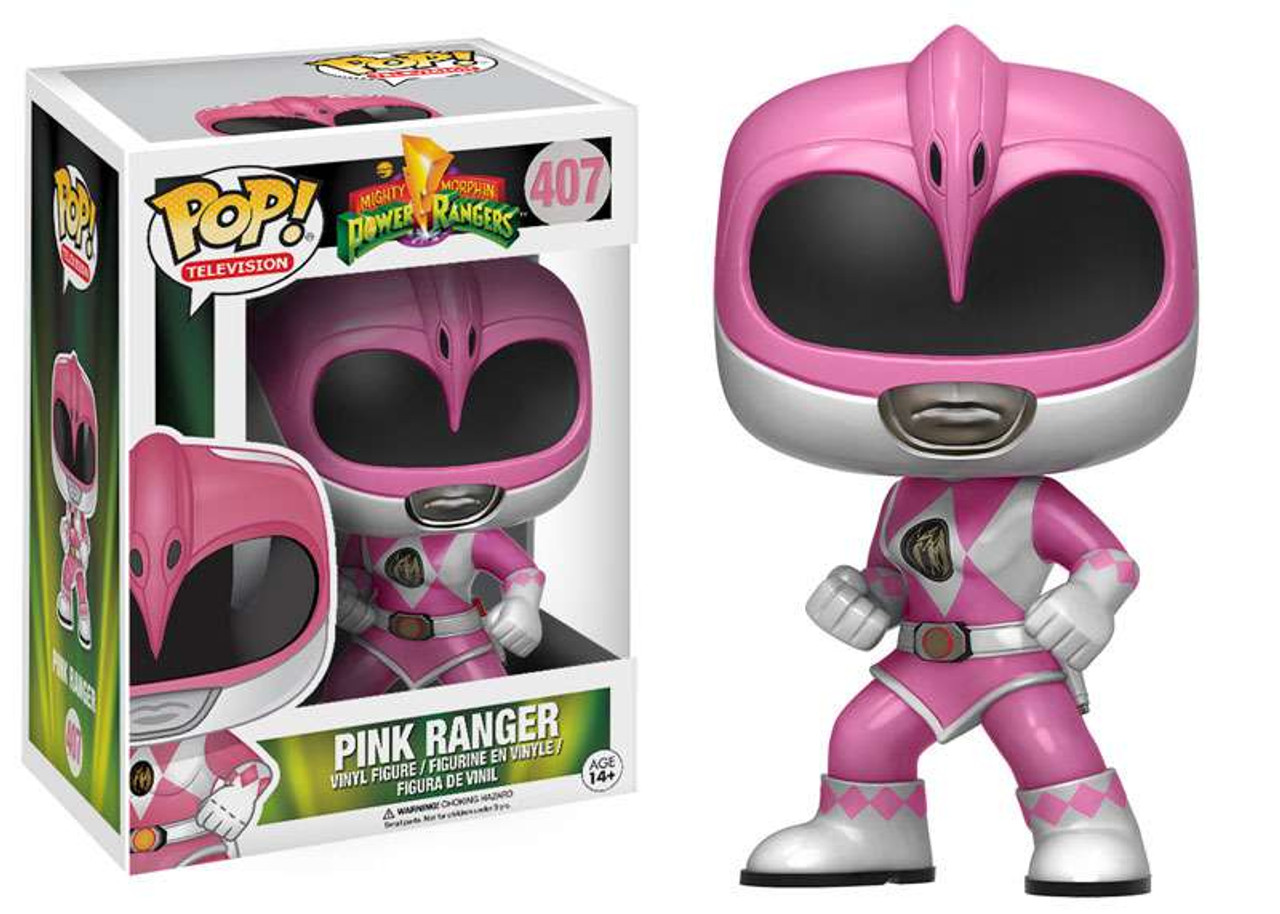 Pink Ranger Pop Vinyl Figure Funko Pop TV Power Rangers
