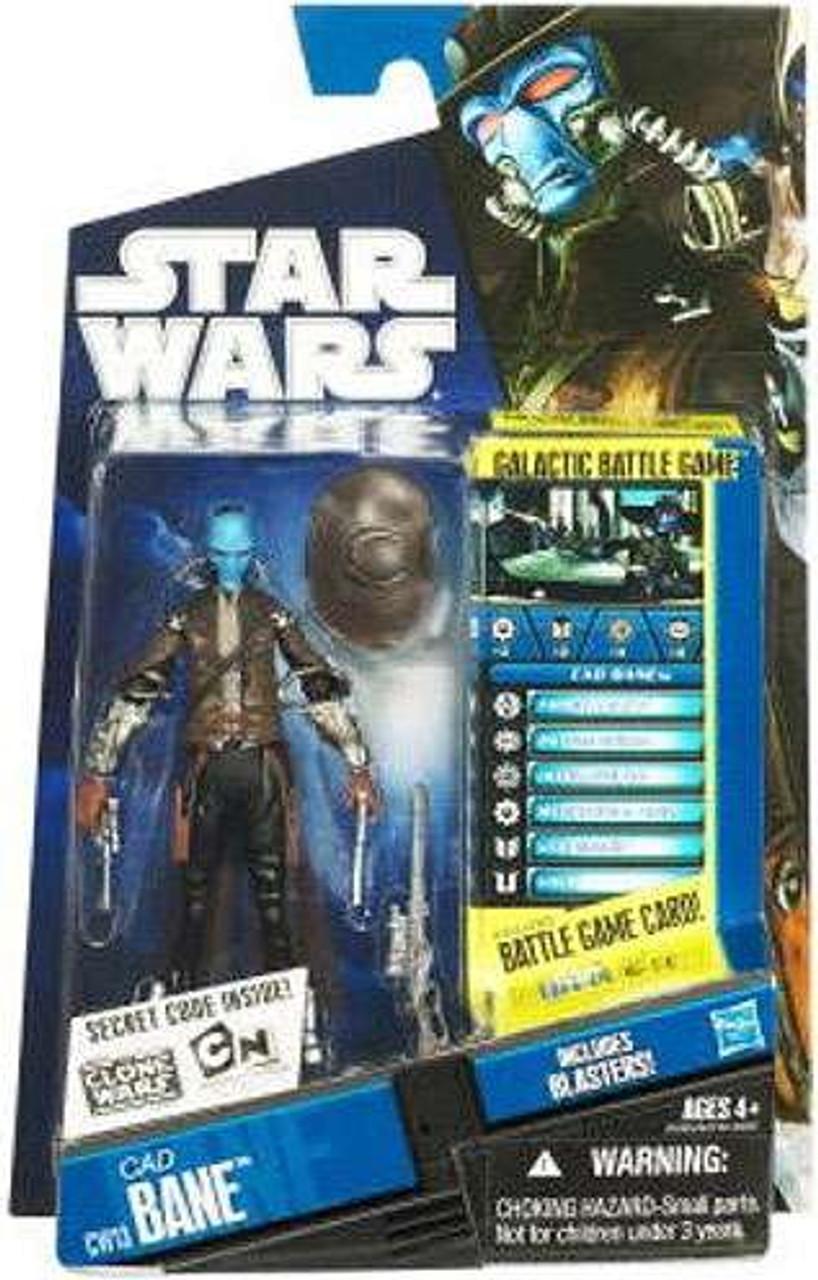 "Star Wars Clone Wars Cad Bane Action Figure 4/"" Complete"