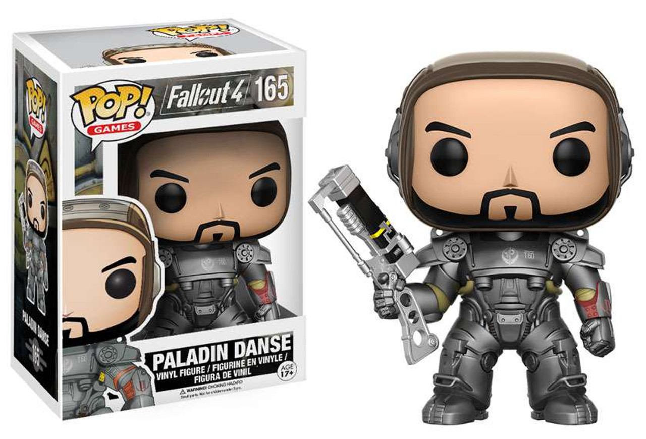 Funko Fallout 4 Funko POP Games Paladin Danse Vinyl Figure 165 - ToyWiz eff38e7253dd