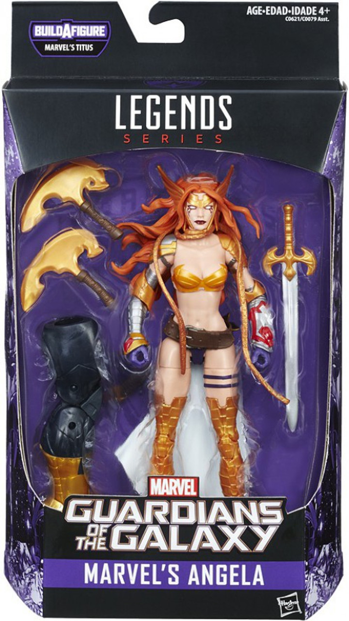 McFarlane Toys Angela Purple//White version Action figure Brand New!