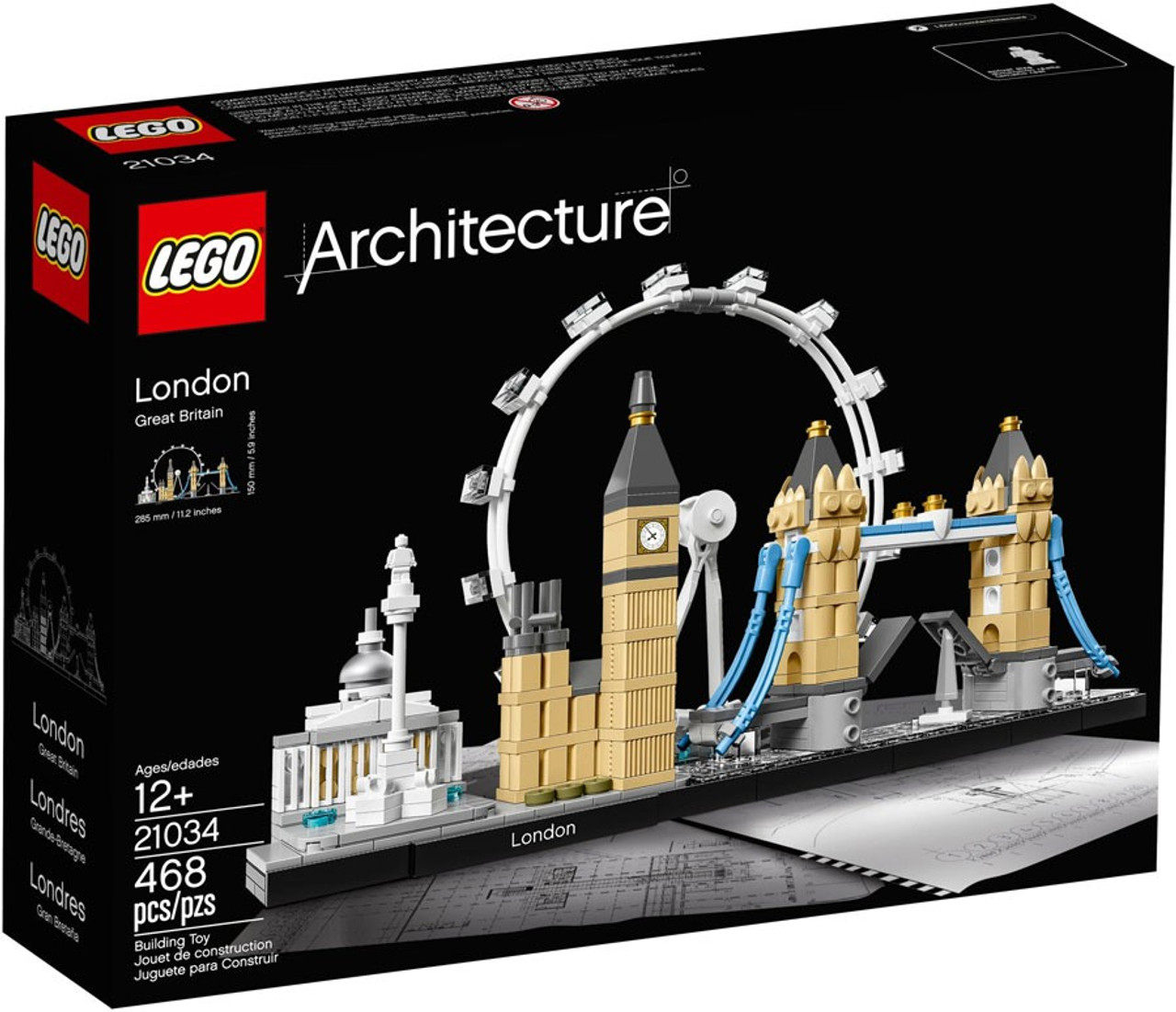 LEGO 21027 Architecture Berlin Toy block genuine from JAPAN NEW