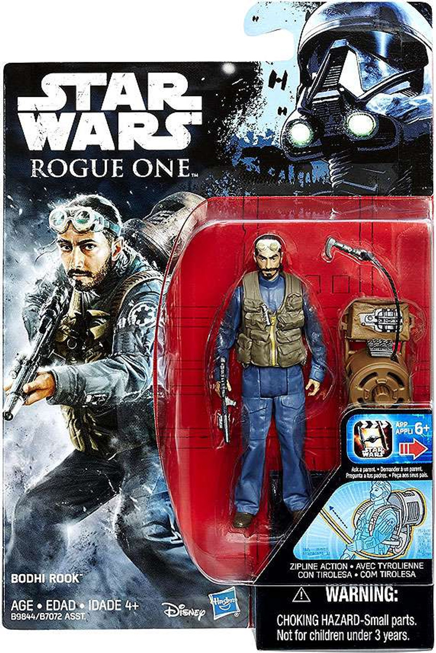 """Star Wars K-2SO avec tyrolienne Action Rogue One 3.75/"""" Collection Figure"""