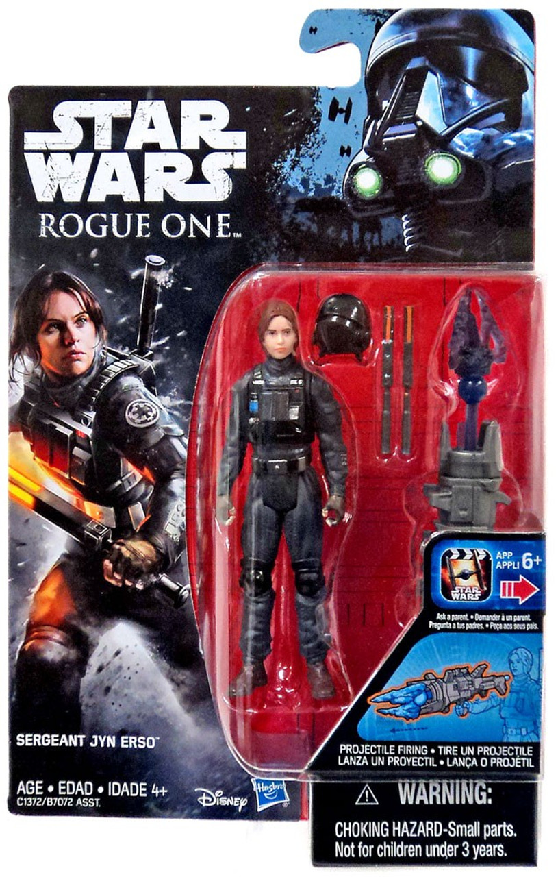 Star Wars Rogue One Sergeant Jyn Erso EADU 3.75-inch Action Figure HASBRO