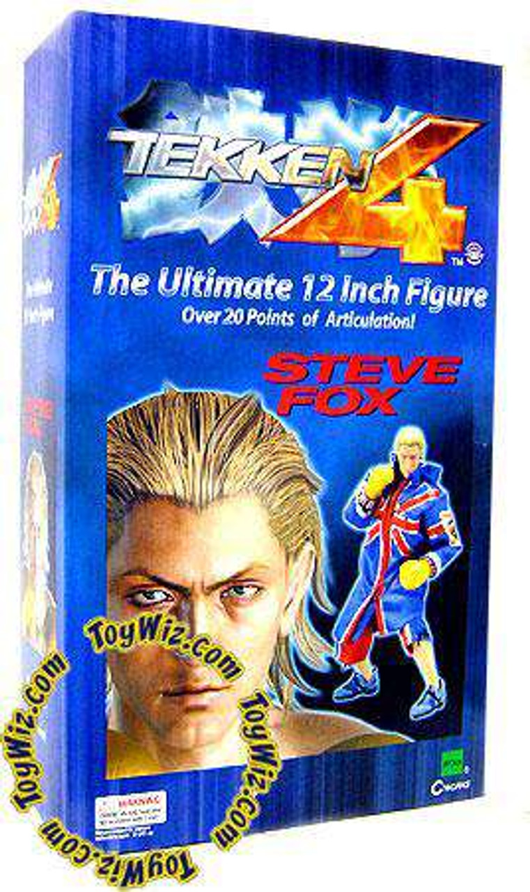 Tekken 4 Steve Fox 12 Collectible Figure Damaged Package Cworks Toywiz