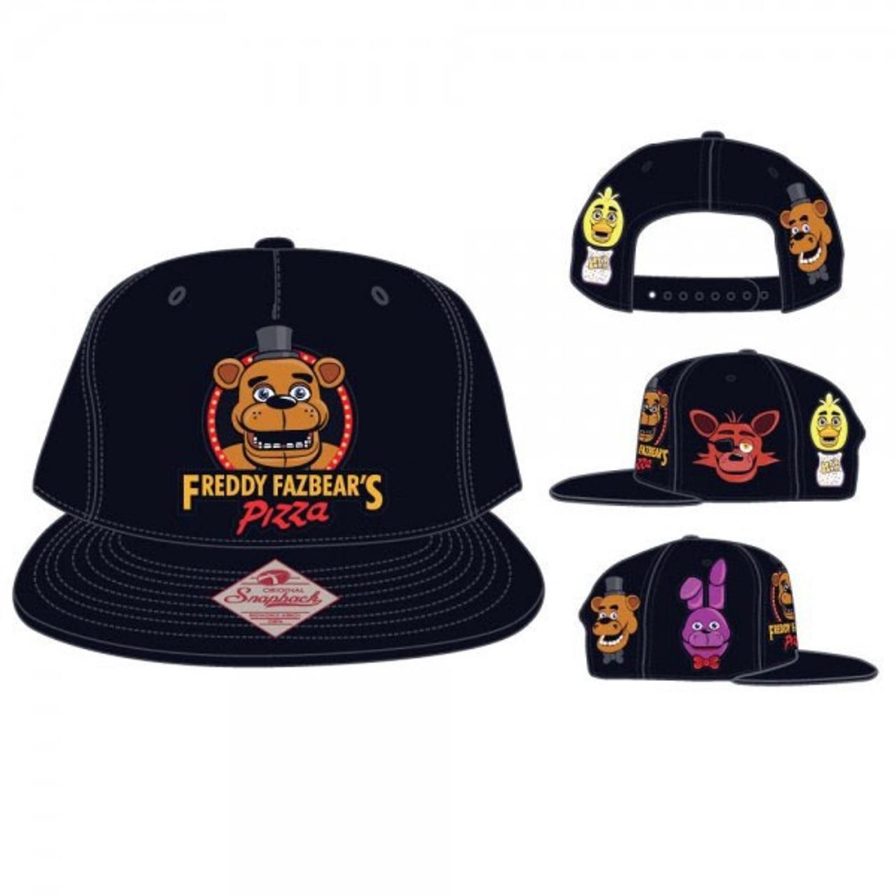 a3f6e047c9f Five Nights at Freddys Omni Color Snapback Cap Apparel Youth Size Bioworld  - ToyWiz