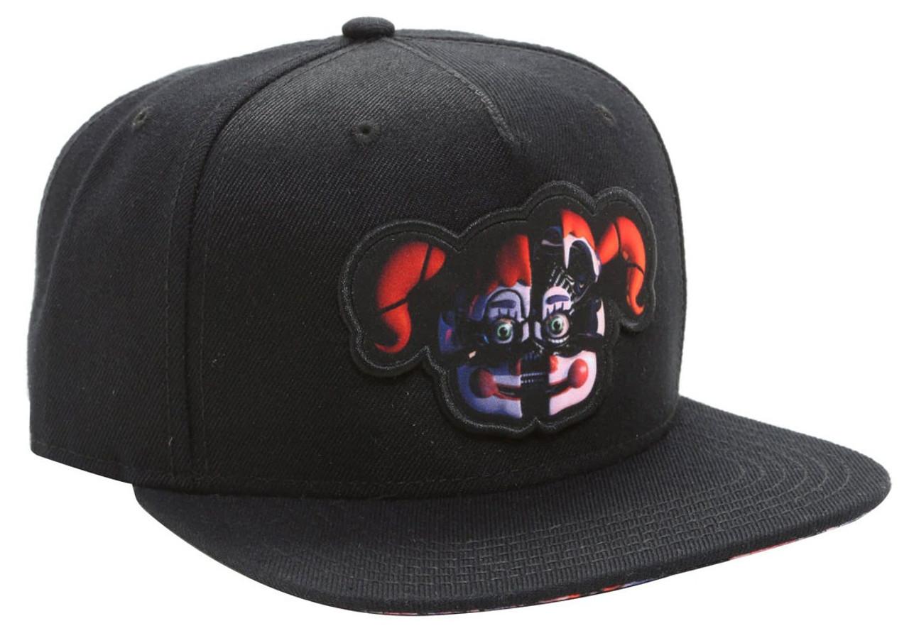 762cf88791c Five Nights at Freddy s Sister Location Sublimated Bill Snapback Cap Apparel