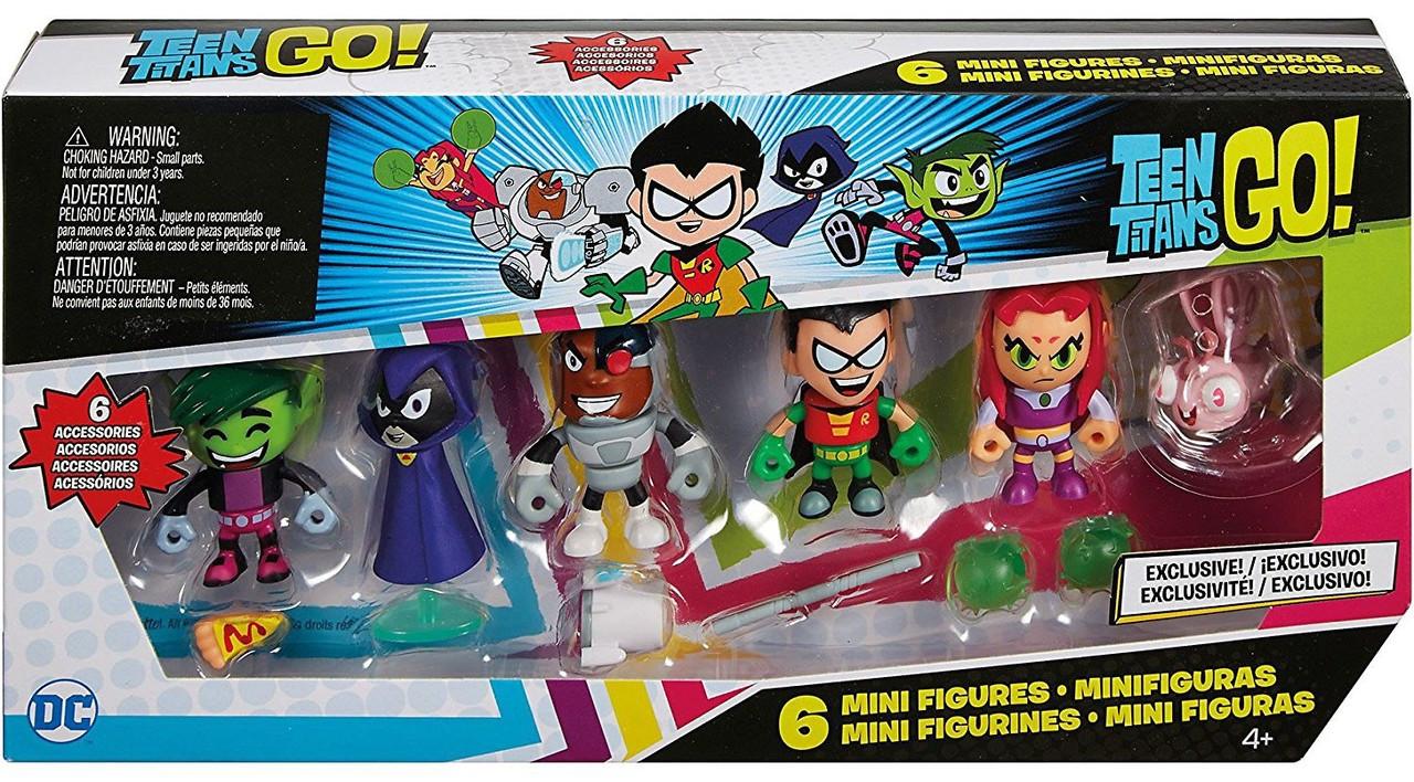 You Pick!!! Mattel TEEN TITANS GO Series 3 Blind Bag Mini Figure w// Package