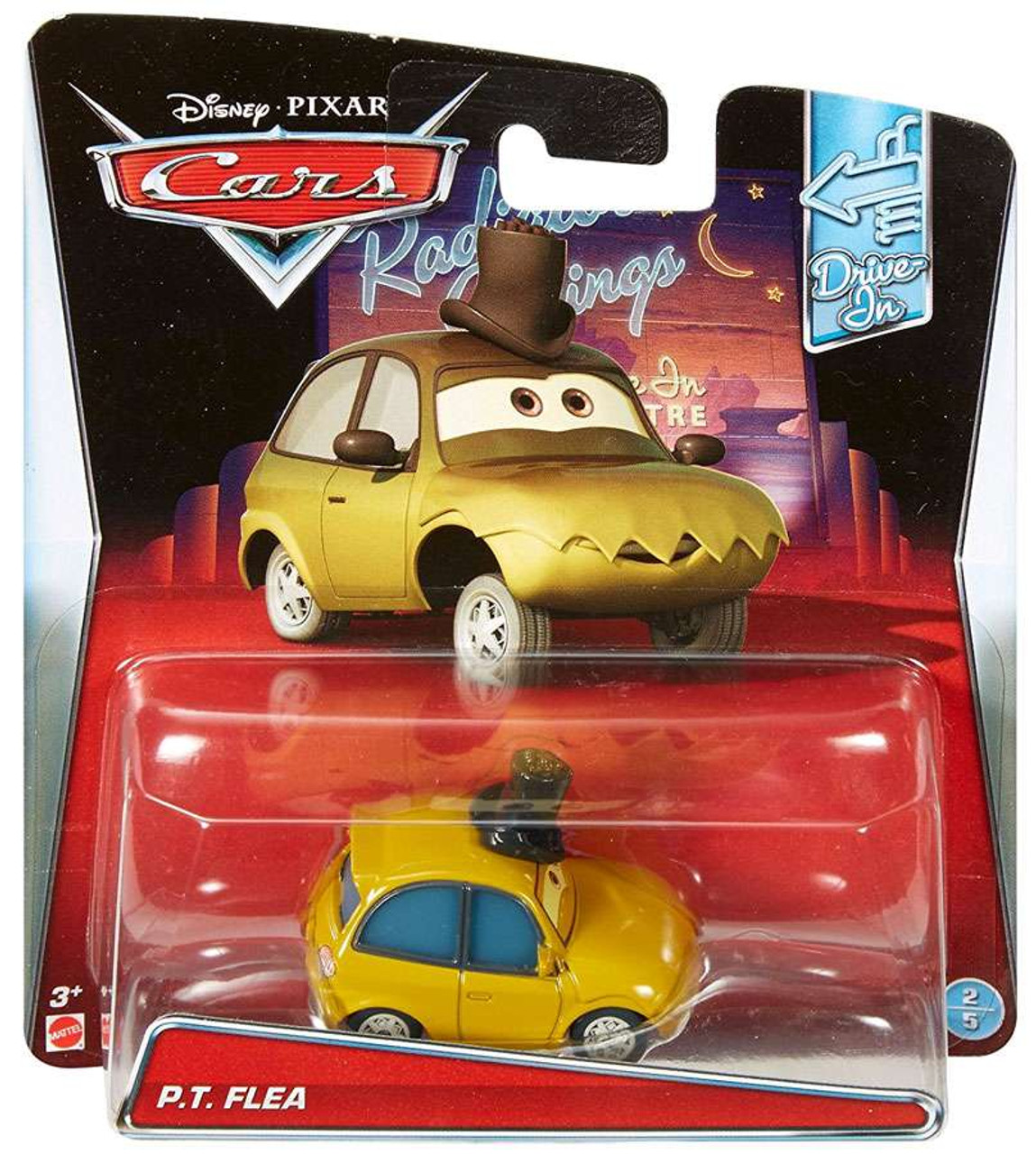 Disney CARS P.T Flea Drive In Ships 24 hrs Best price on !