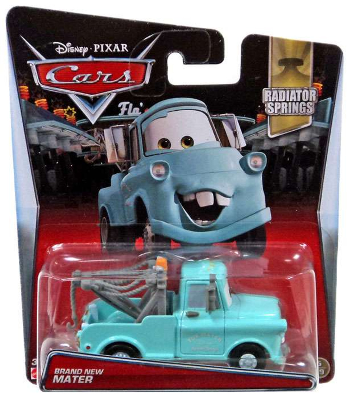 Disney Pixar Cars Radiator Springs Brand New Mater 155 Diecast Car 519  Mattel Toys - ToyWiz