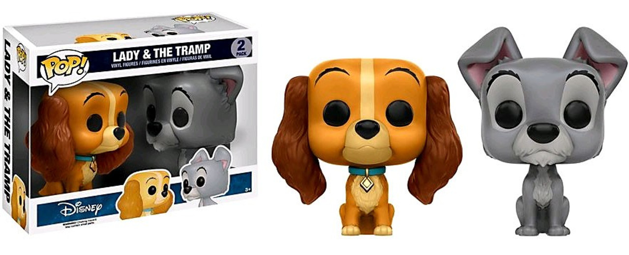 76f33546a5b Funko Disney Lady The Tramp POP Disney Lady The Tramp Exclusive ...