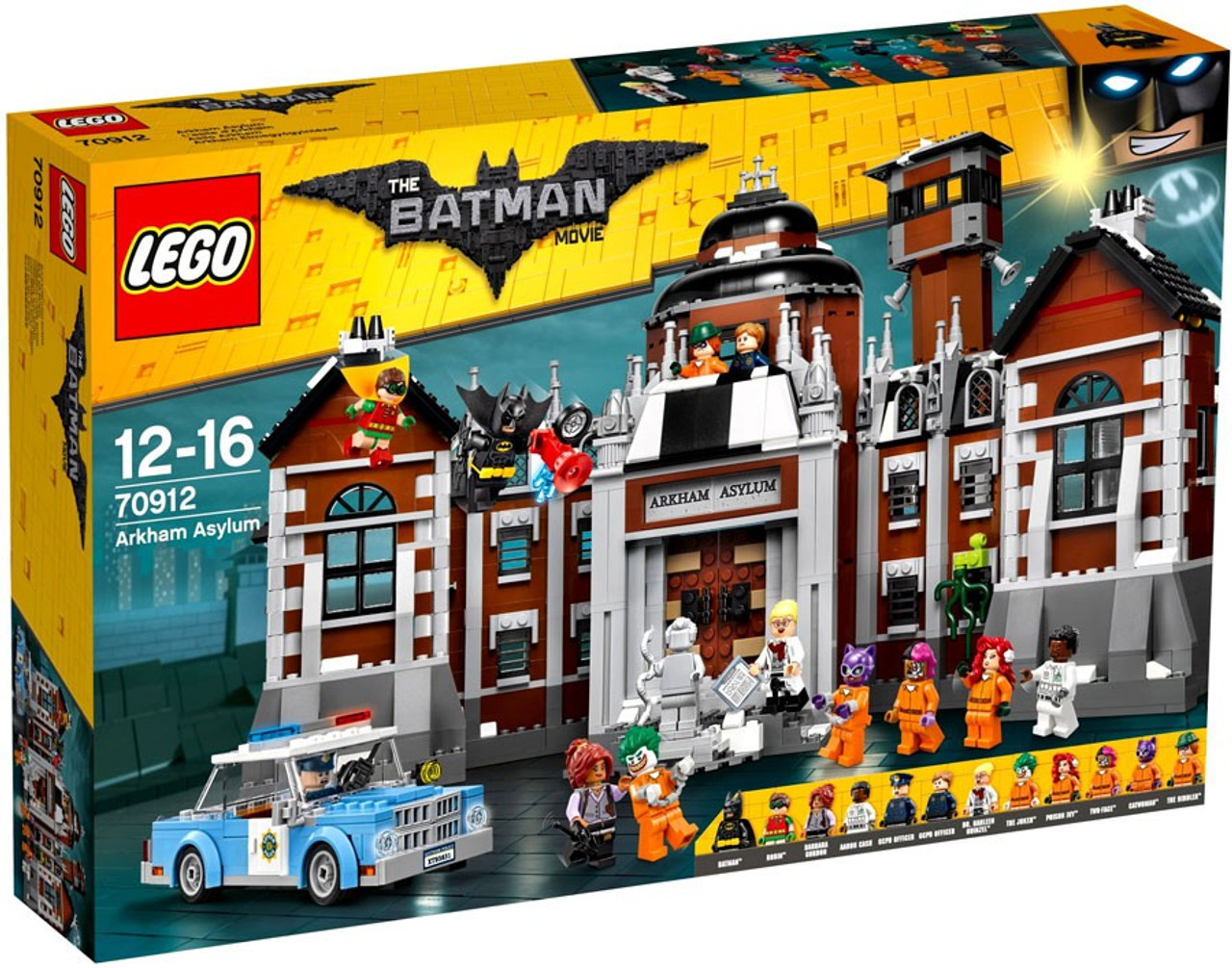 lego dc the batman movie arkham asylum exclusive set 70912