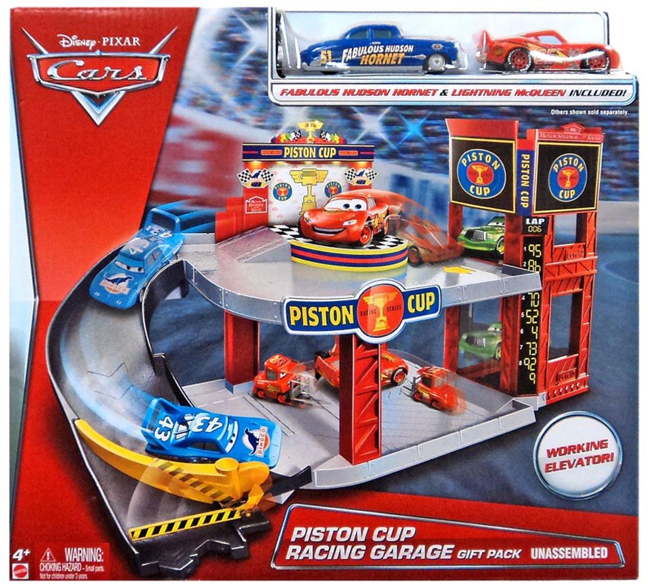 Disney Pixar Cars Cars 3 Florida Speedway Mega Garage Playset Mattel