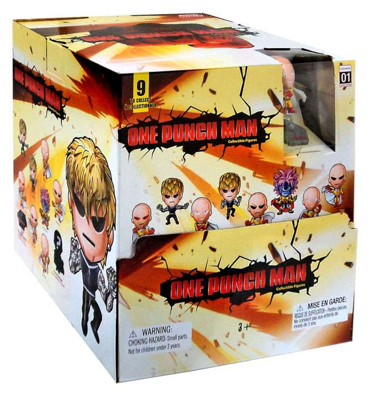 Original Minis Series 1 One Punch Man Mystery Box [24 Packs]