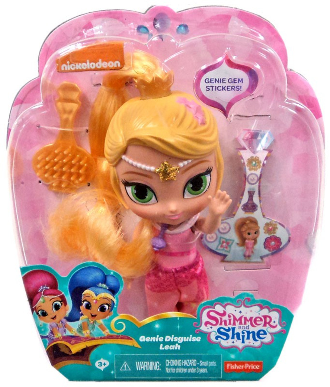 Fisher Price Shimmer Shine Genie Disguise Leah 6 Basic Doll Toywiz