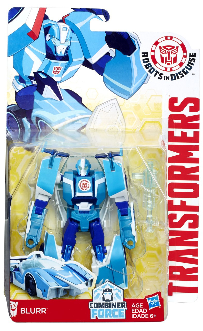 Transformers Robots in Disguise Combineur Force Warrior Class blurr