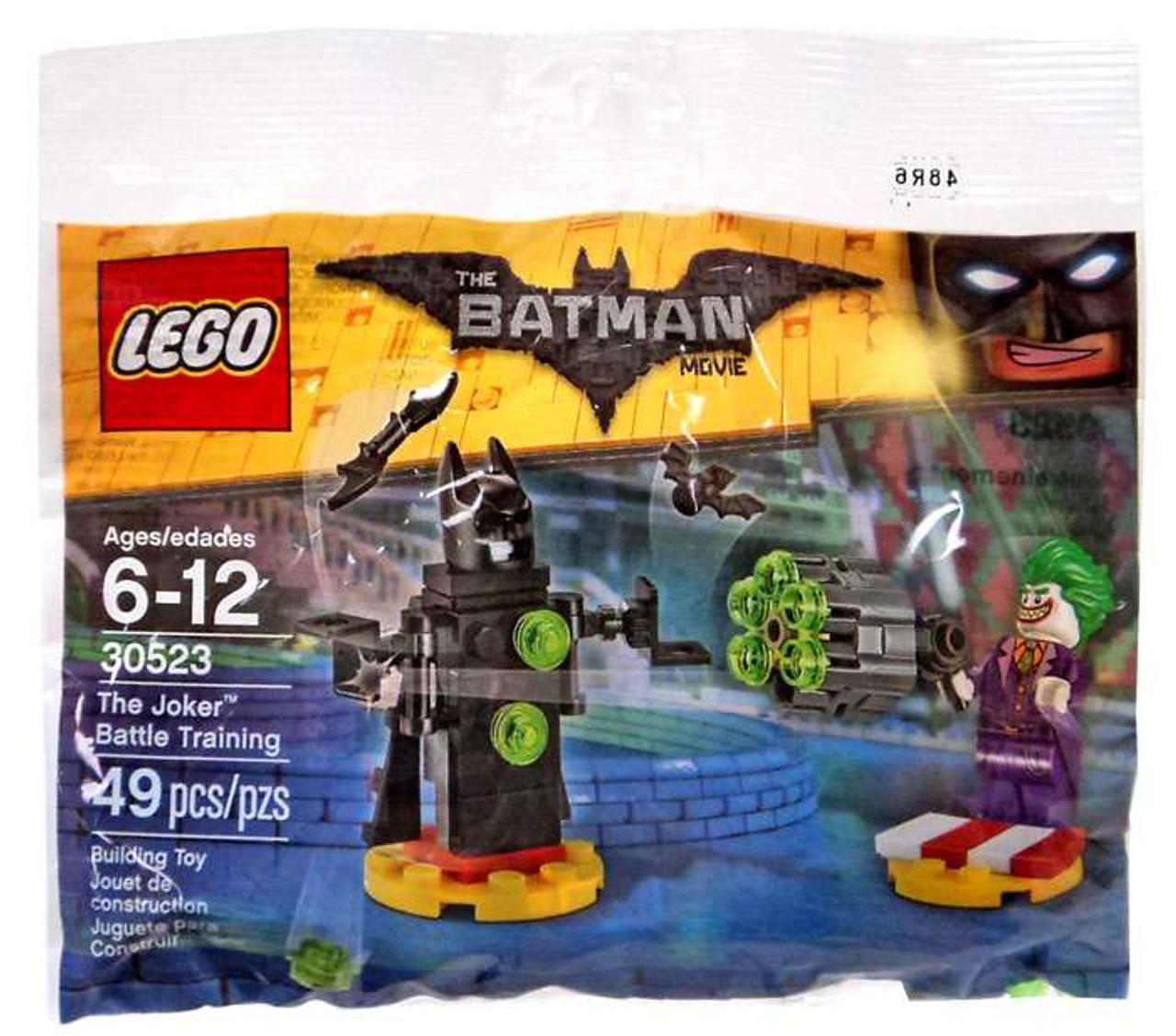 Lego Dc The Batman Movie The Joker Battle Training Set 30523 Bagged Toywiz
