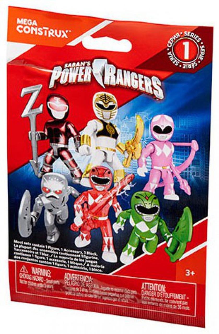 Mega Bloks Power Rangers Construx Movie Series 1 Mystery Pack DPK62