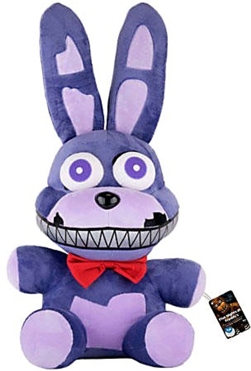 """Bonnie Plush 15/"""" Five Nights at Freddy/'s Plush Toy Purple with Bow Tie /& Ears"""