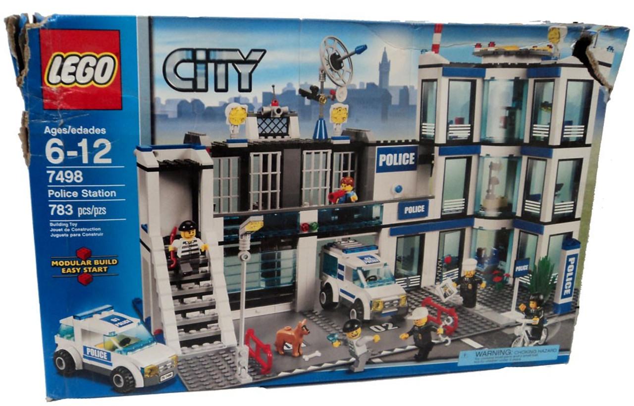 Lego City Police Station Set 7498 Damaged Package Toywiz
