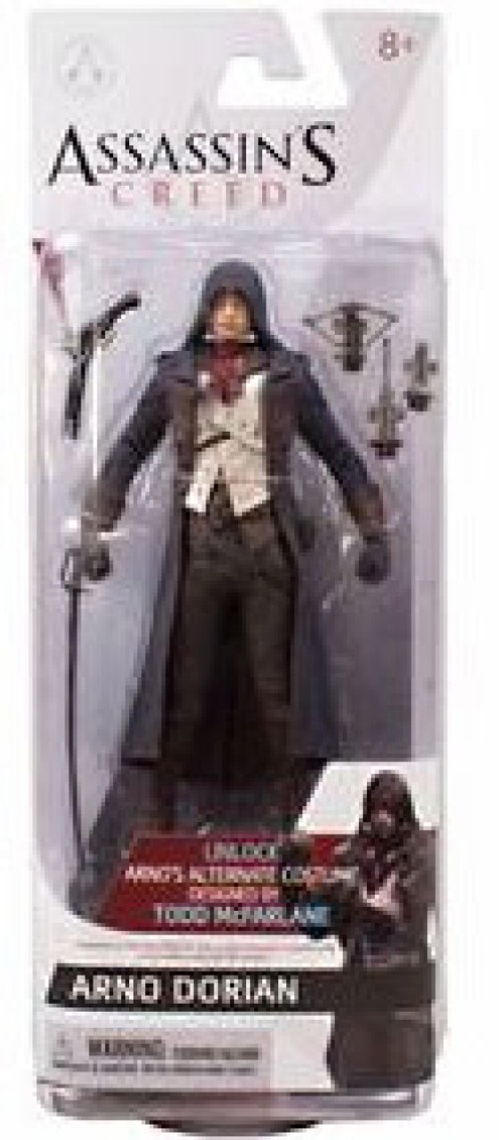 Mcfarlane Toys Assassins Creed Series 3 Arno Dorian 6 Action Figures Toywiz