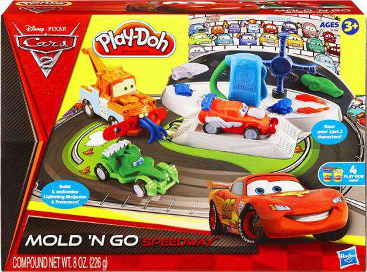Basteln & Kreativität Play-Doh Cars 2 Mold N Go Speedway