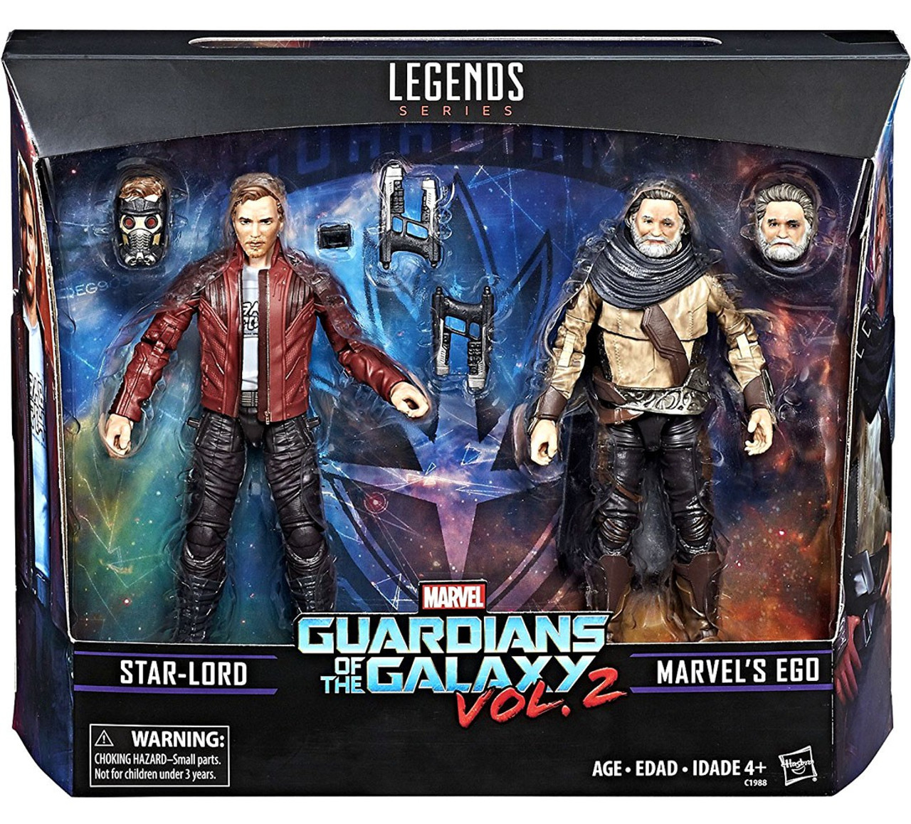 Marvel gaurdians of the Galaxy Star-Lord Action Figure