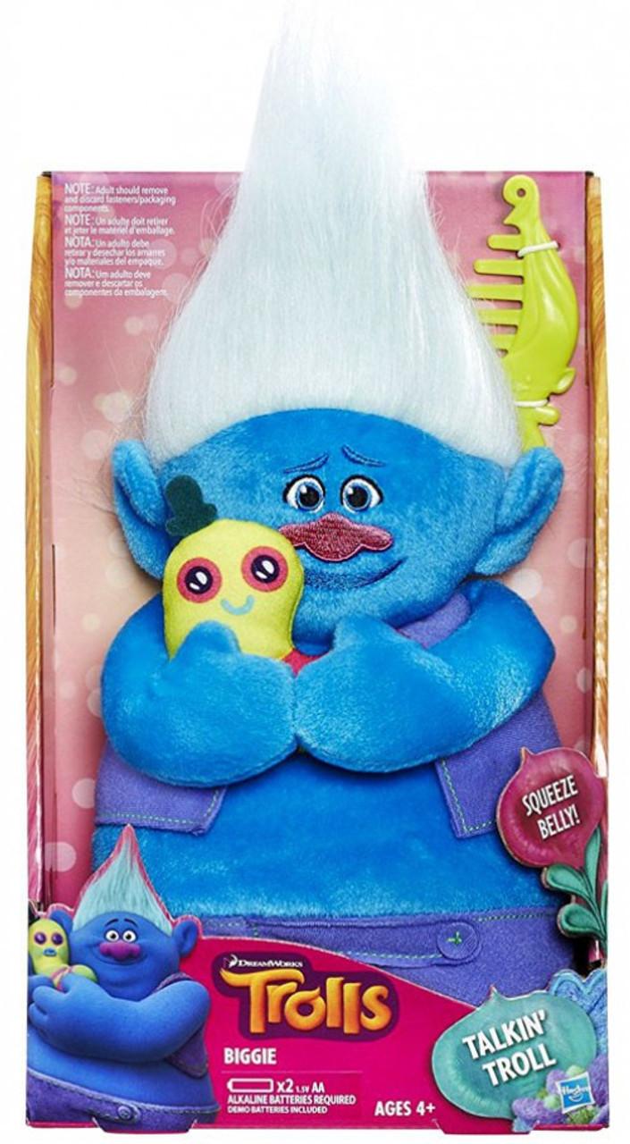 Trolls Biggie 14 Plush With Sound Hasbro Toys Toywiz