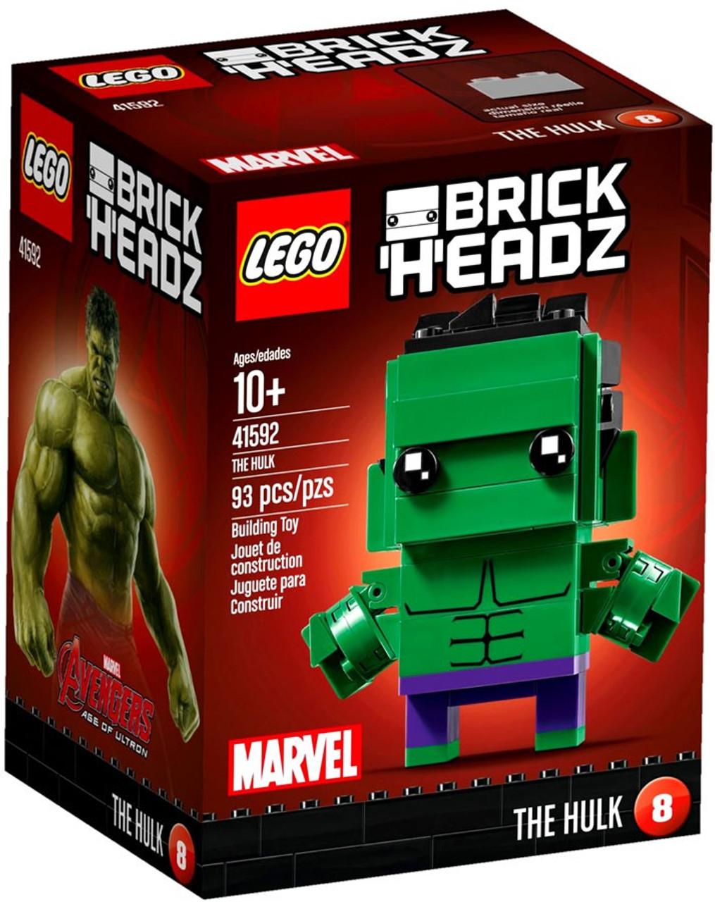 Marvel Avengers Set The Mini Headz Of Hulk Lego Ultron Age Brick 6vYfgb7y