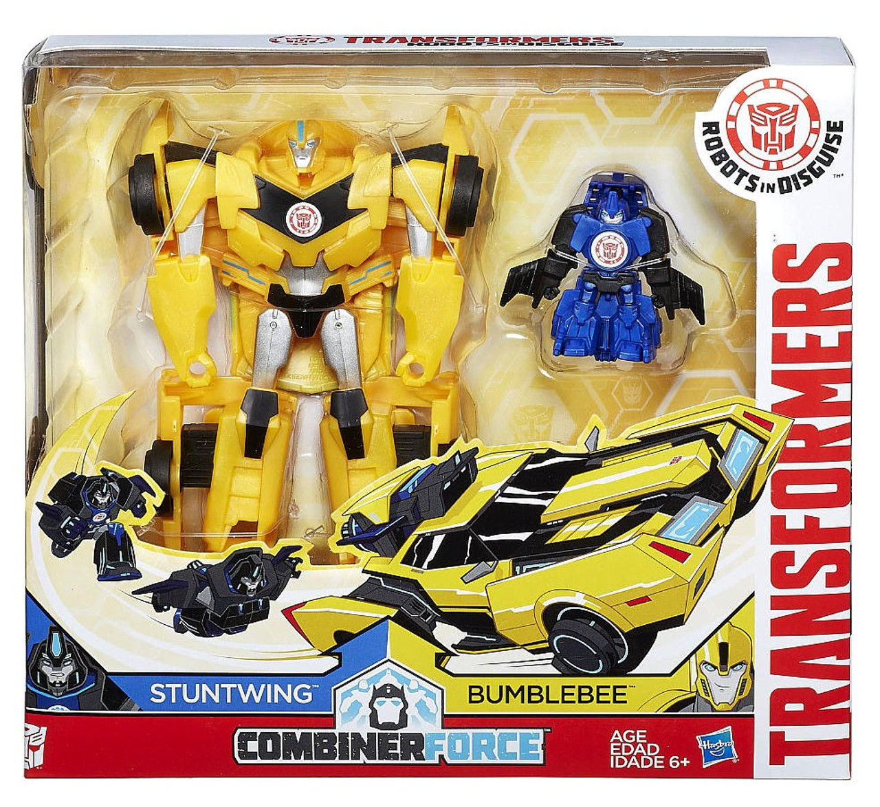 Transformers Combiner Force Sideswipe /& Bumblebee Figures New Damaged Package