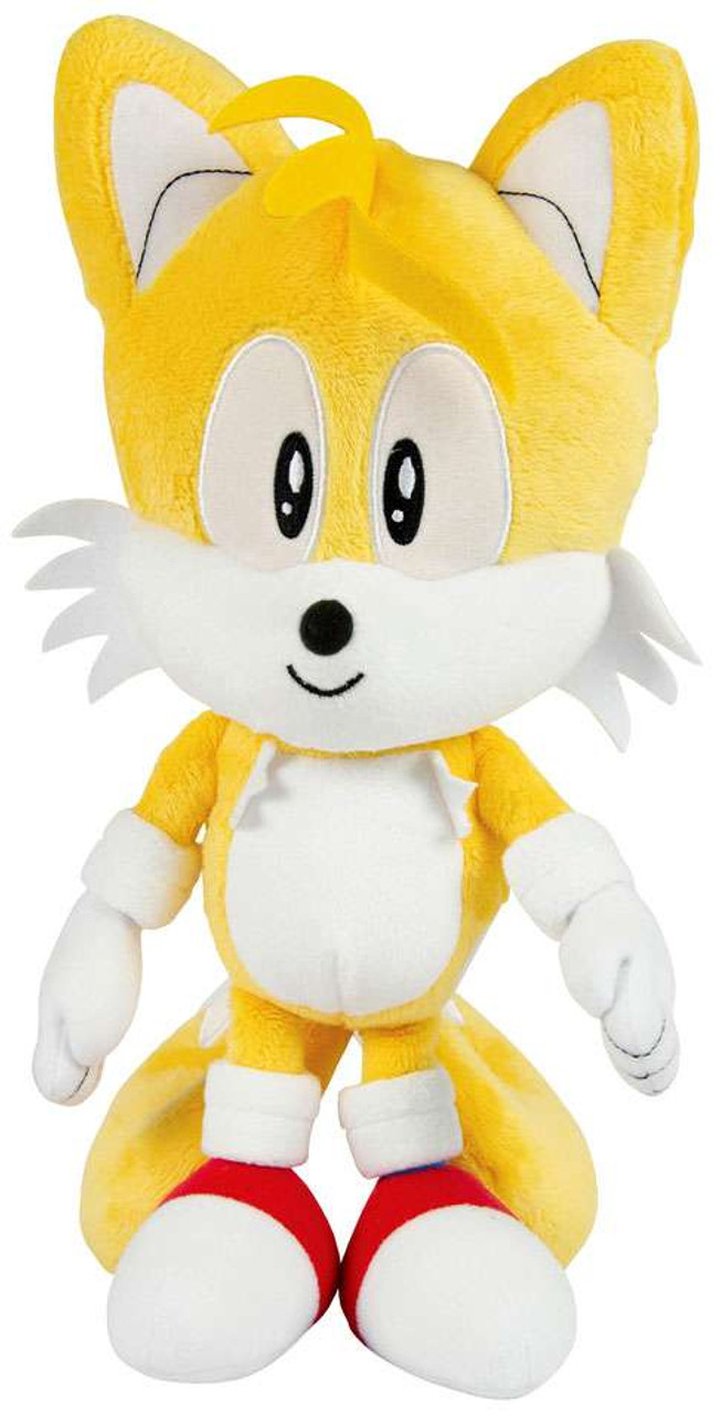 Sonic The Hedgehog Tails 12 Deluxe Plush Classic Tomy Inc Toywiz