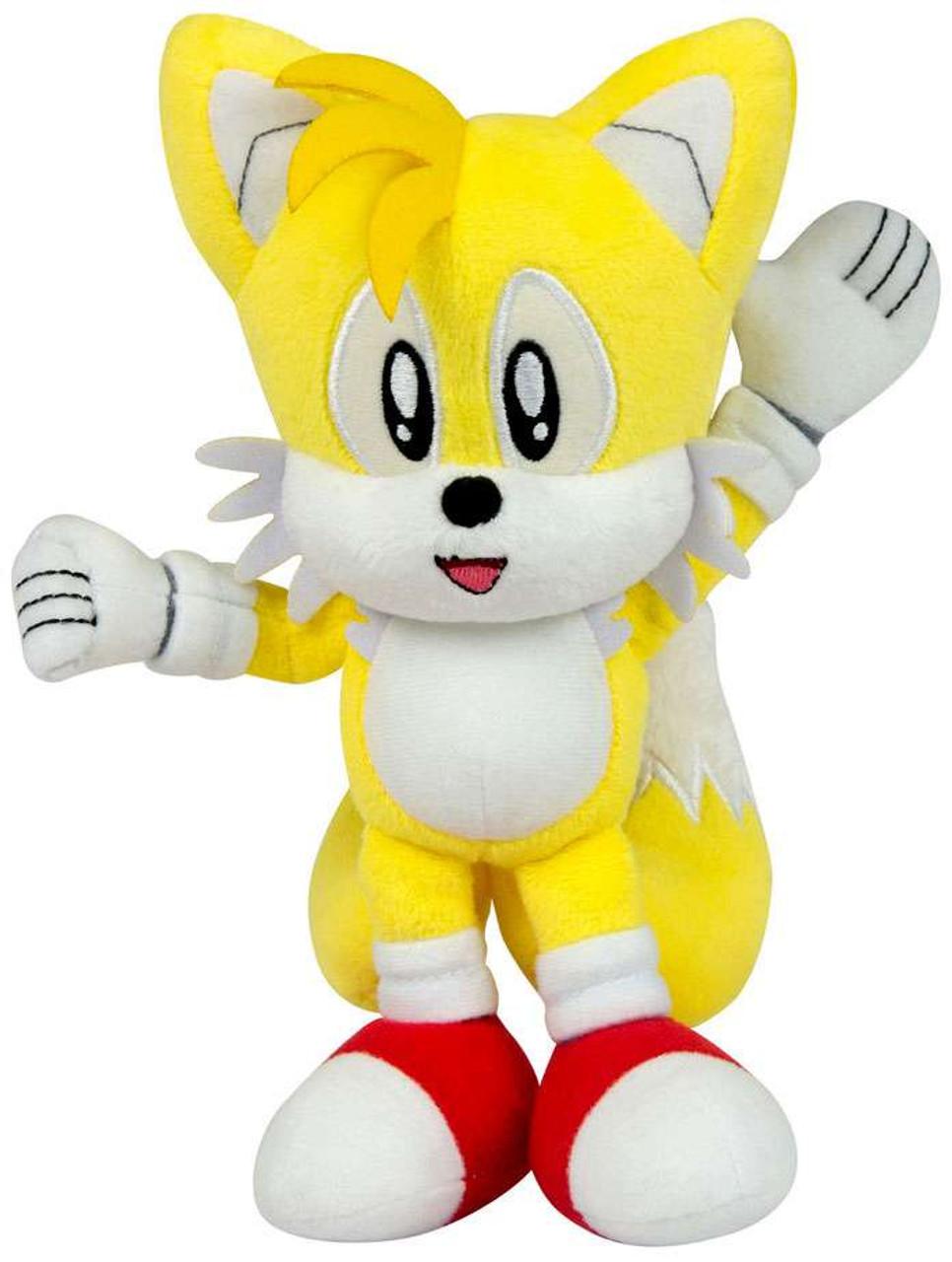 Sonic The Hedgehog Tails 8 Plush Classic 1992 Tomy Inc Toywiz