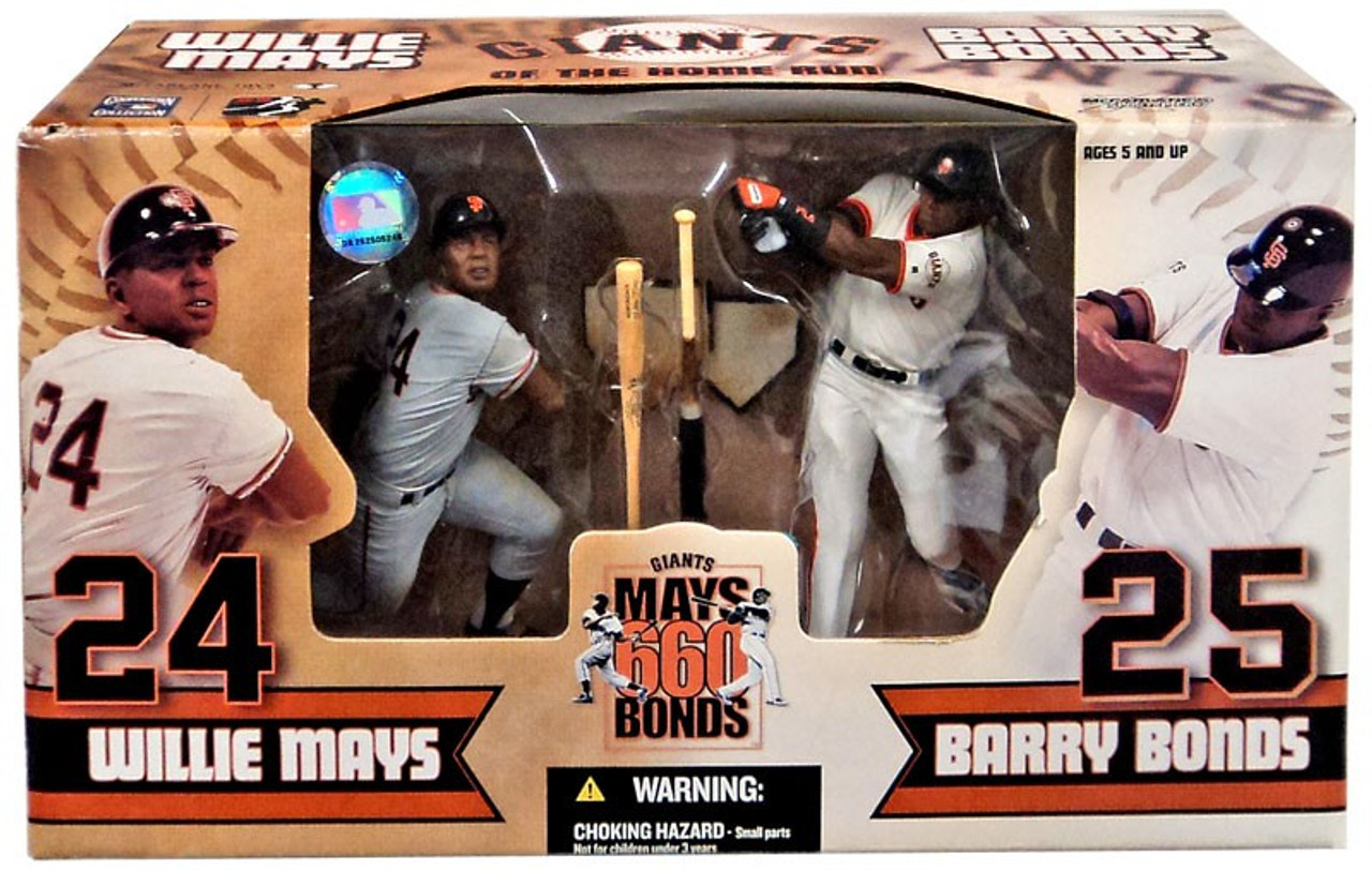 Willie Mays San Francisco Giants Collectible Toy Action Figure with Trading Card