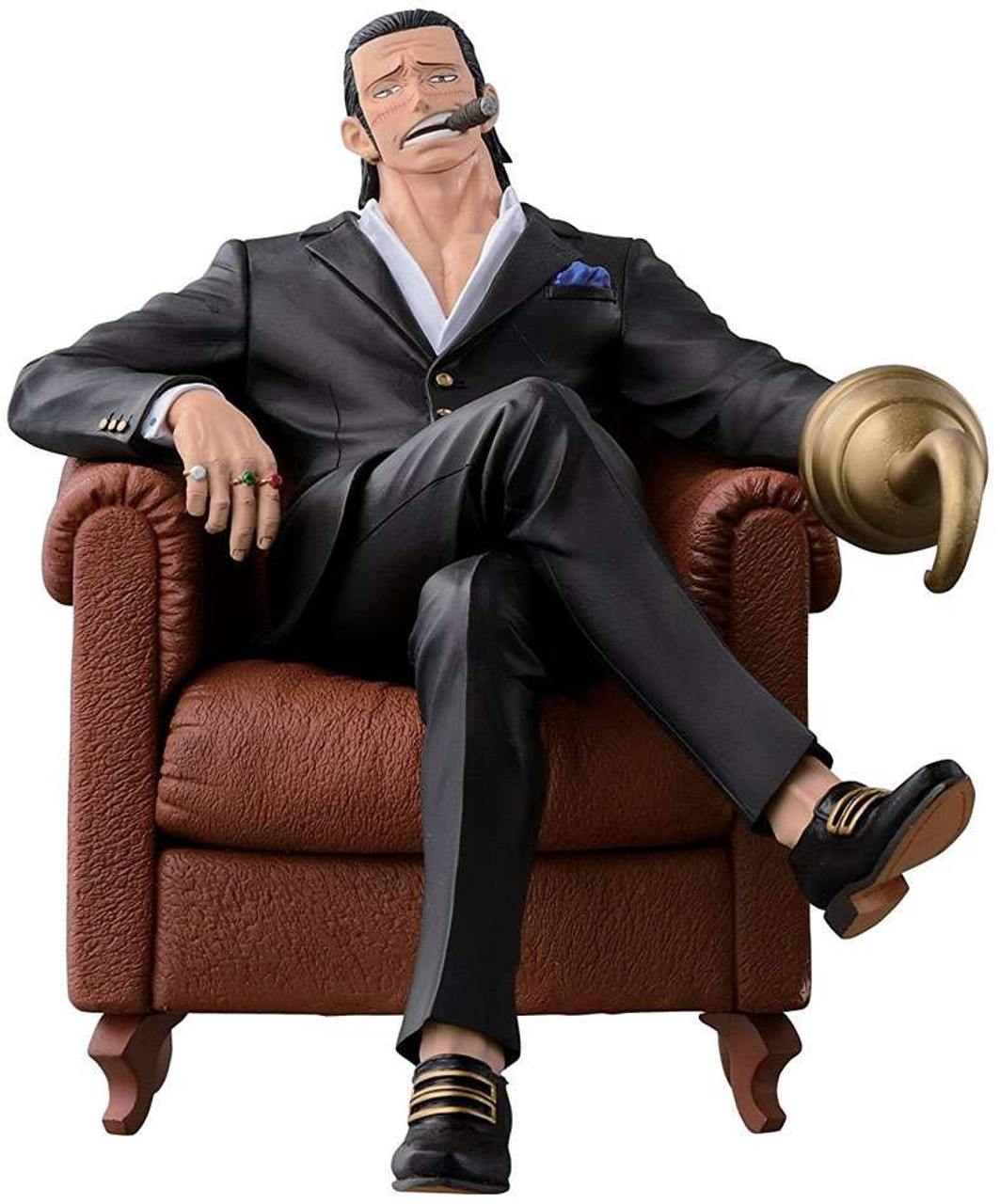 Dracule.Mihawk Banpresto One Piece 5.5-Inch Mihawk Creator x Creator Series Figure