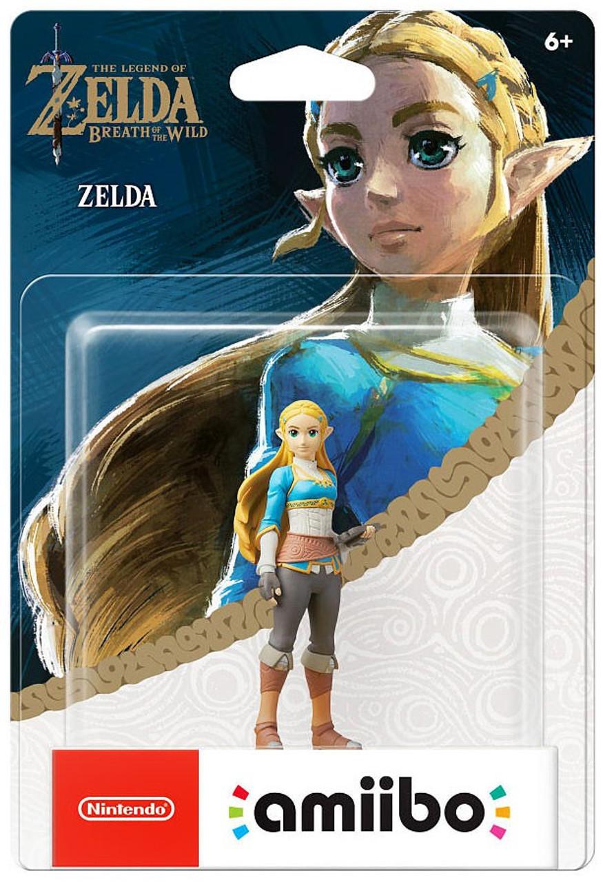 Nintendo Breath Of The Wild Amiibo Zelda Mini Figure Botw Toywiz