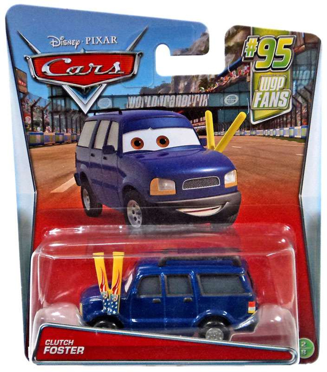 DISNEY CARS DIECAST Clutch Foster 2017 Series Combined Postage
