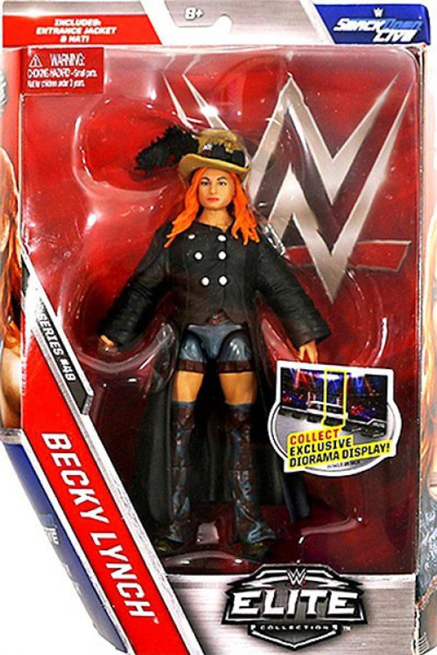 WWE~SUPERSTARS DIVA WRESTLER ACTION FIGURE DOLL ACCESSORY BECKY LYNCH BROWN BELT