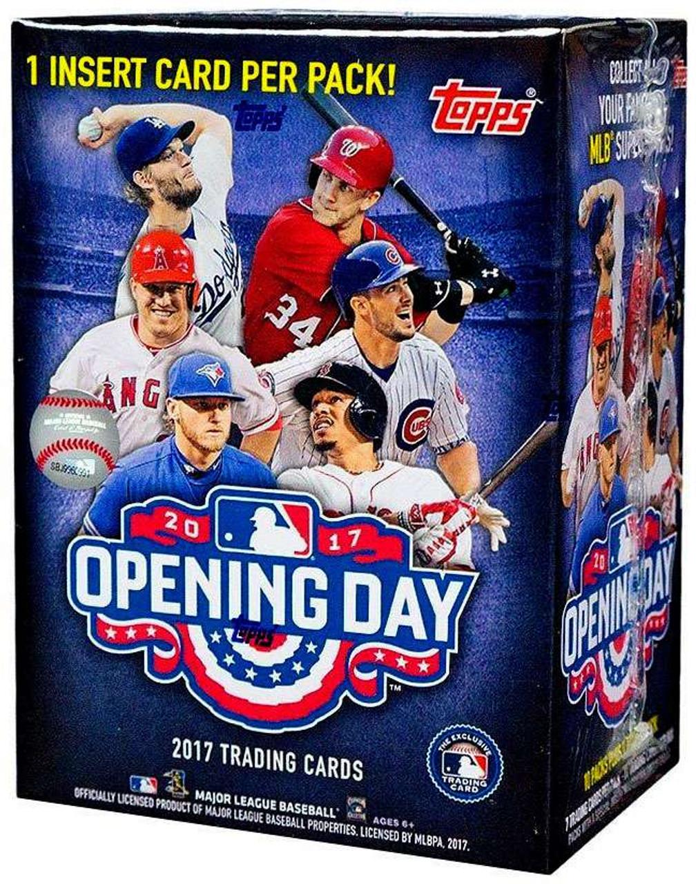Mlb 2017 Topps Baseball Cards 2017 Opening Day Trading Card Blaster Box 11 Packs