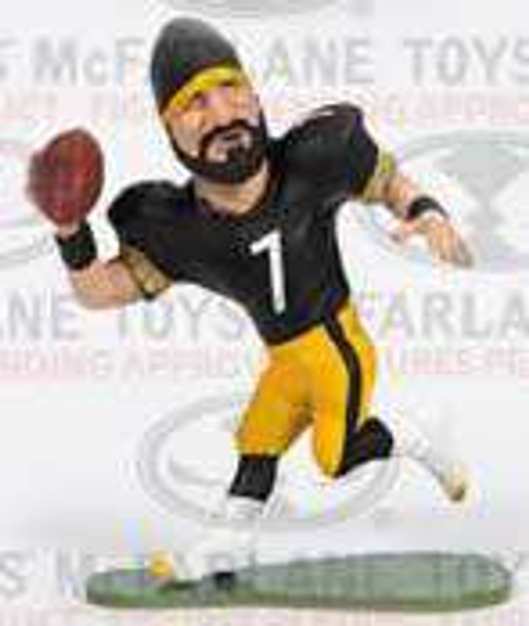 Ben Roethlisberger Pittsburgh Steelers  McFarlane NFL Small Pros Helmet Variant