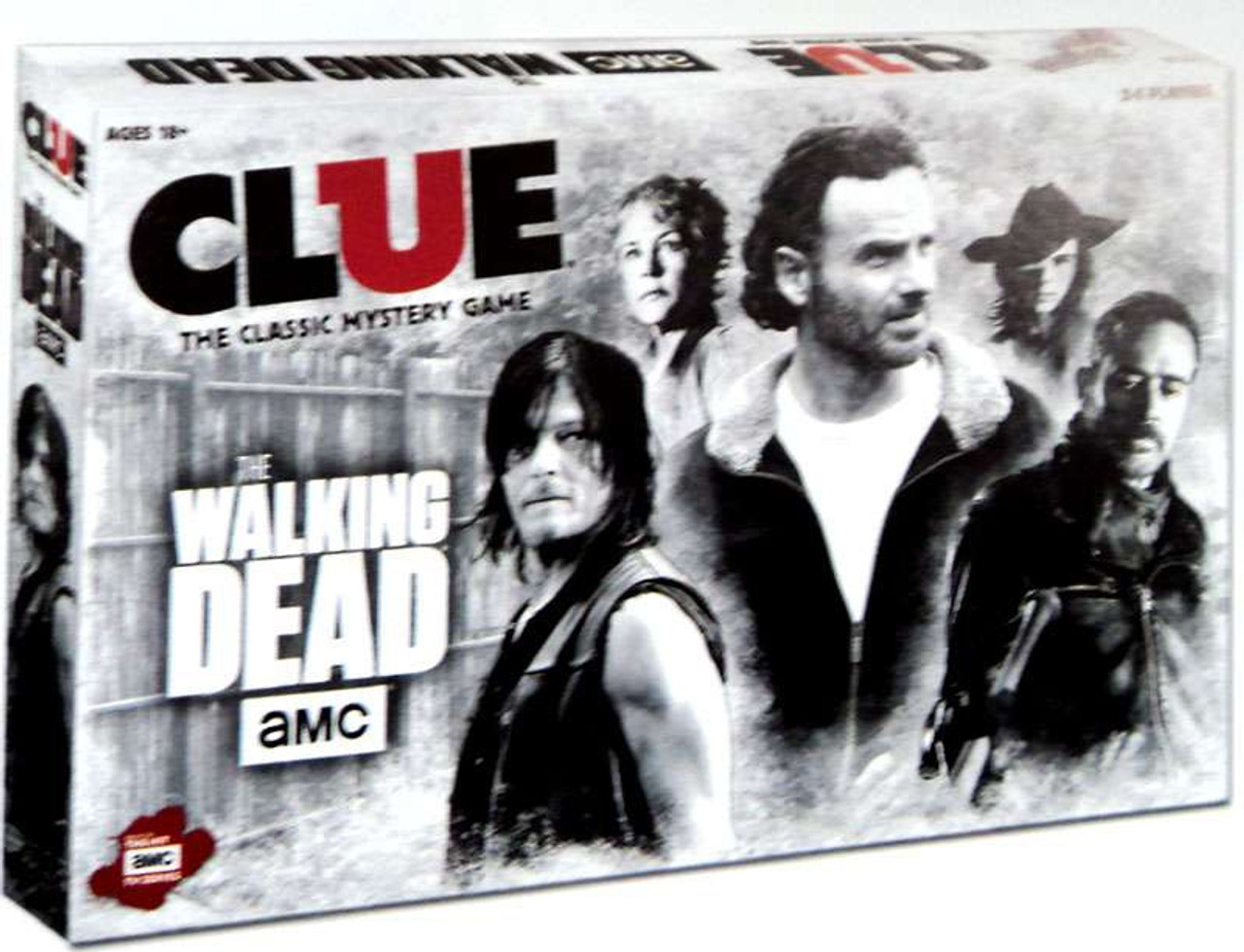 Clue The Walking Dead AMC Board Game