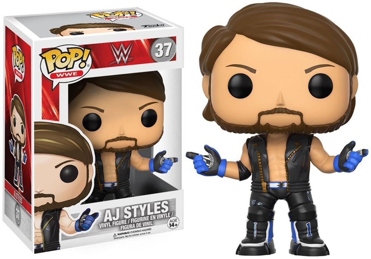 3f220cc79ad Funko WWE Wrestling Funko POP AJ Styles Vinyl Figure 37 - ToyWiz