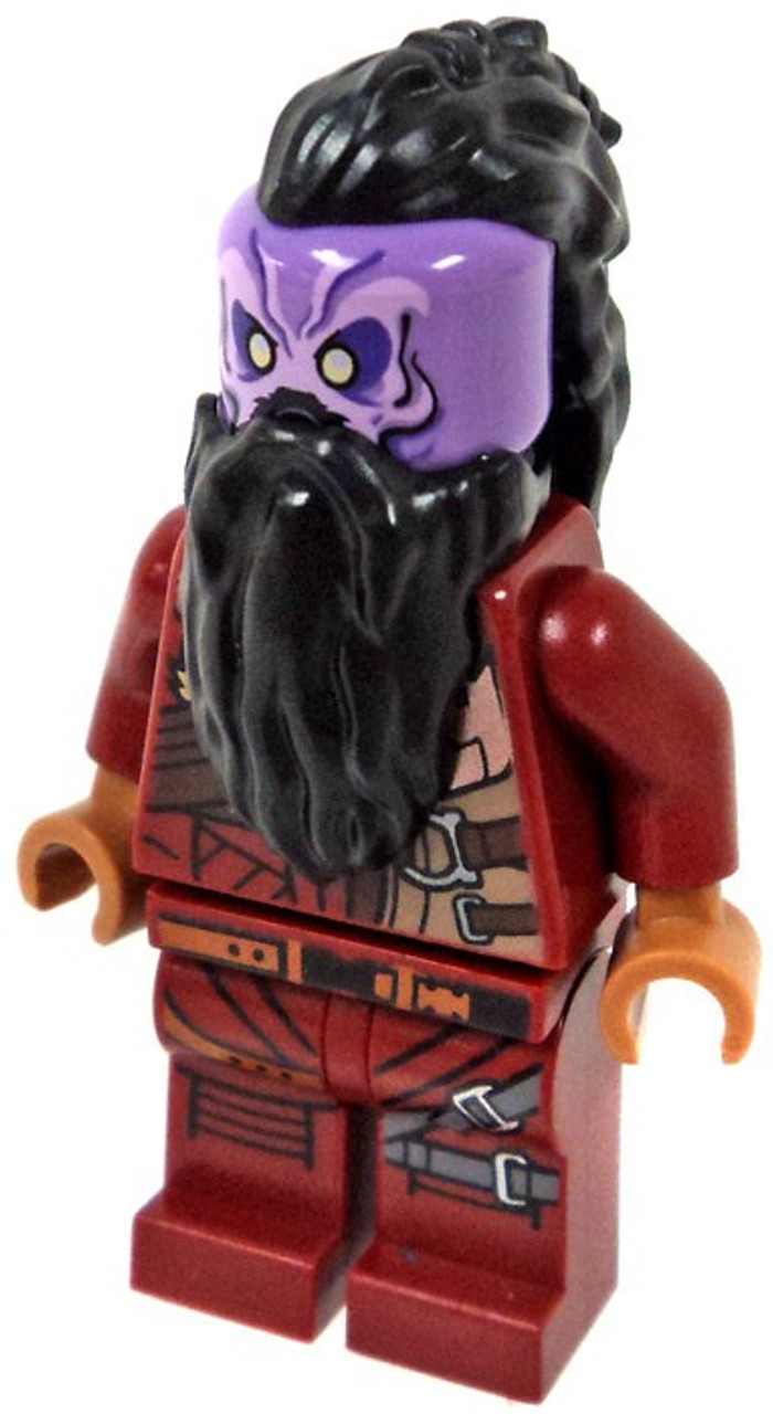 LEGO Marvel Guardians of the Galaxy Vol  2 Taserface Minifigure [Loose]