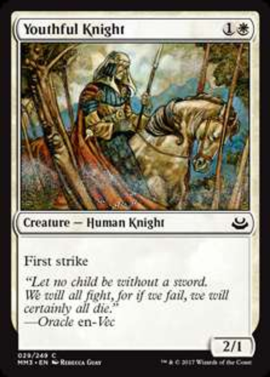 Attended Knight MTG Modern Masters 2017 FOIL