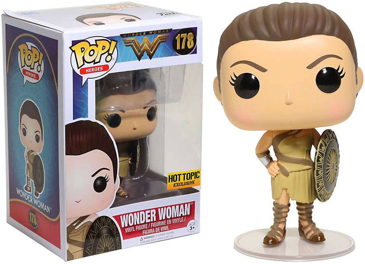 42a9d4ee705 Funko DC Funko POP Heroes Wonder Woman Exclusive Vinyl Figure 178 Amazon -  ToyWiz