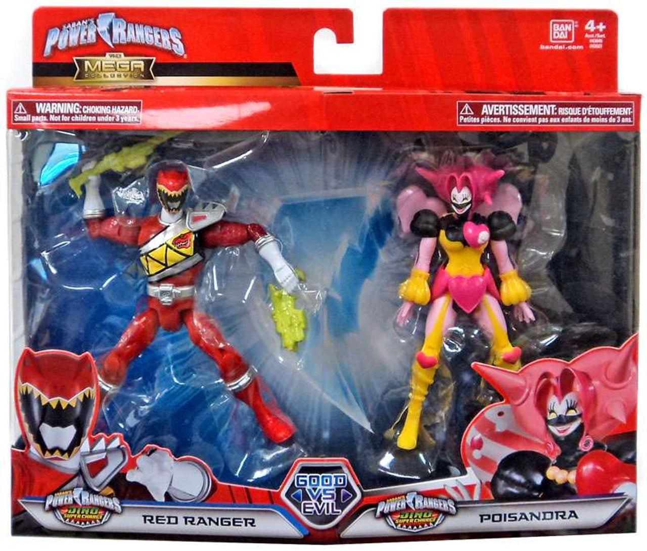 - Power Rangers Dino Super Charge Good Vs. Evil Red Ranger Poisandra