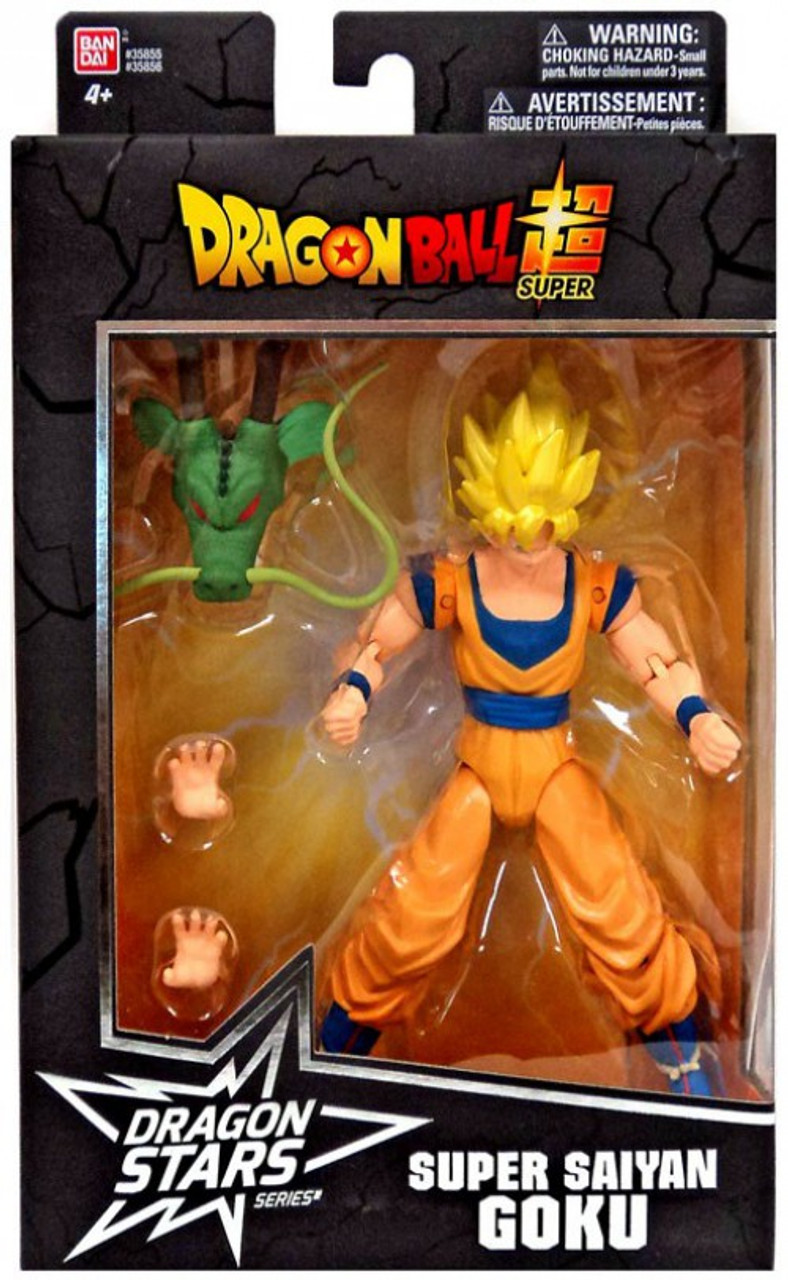 SUPER SAIYAN GOKU Action Figure! Dragon Stars Series Bandai Dragon Ball Super