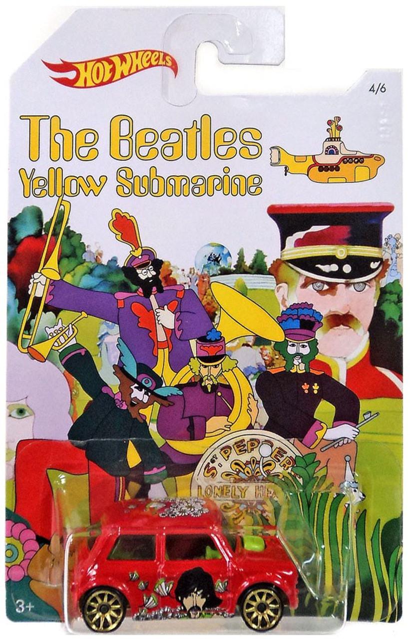 Hot Wheels The Beatles Yellow Submarine 50th Anniversary Morris Mini