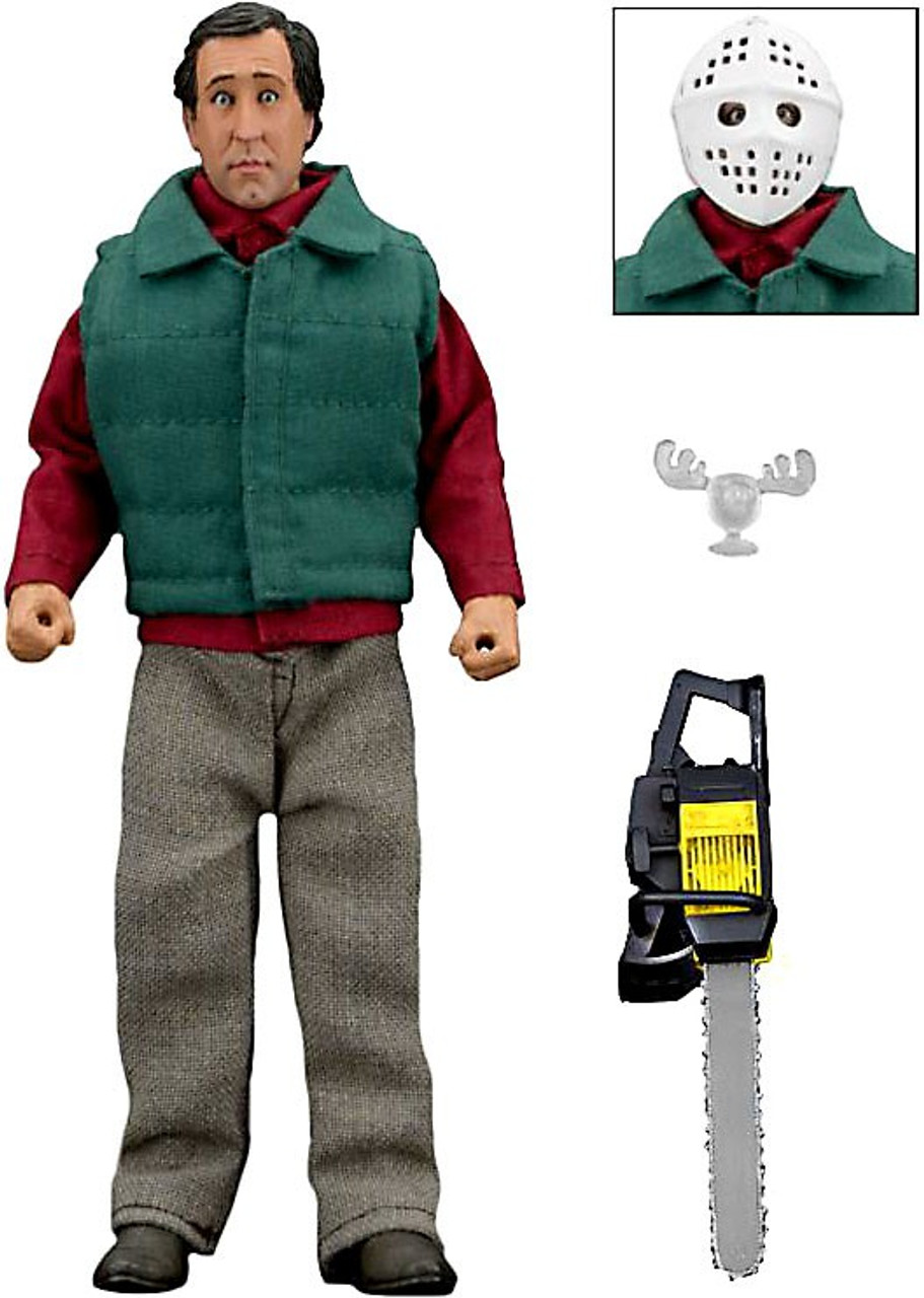 Clark Christmas Vacation Costume.Neca National Lampoon S Christmas Vacation Chainsaw Clark Griswold Clothed Action Figure